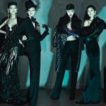 Grace Gao, Xiao Wen Ju, Tian Yi, Ming Xi, & Jia Jing for Dsquared2