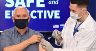 White House Officials Receive COVID-19 Vaccine