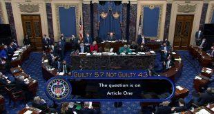 Senate Acquits Trump With 57-43 Vote