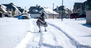Widespread Power Outages in Texas After Winter Storm