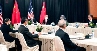 American and Chinese Diplomats Clash at Anchorage Meeting