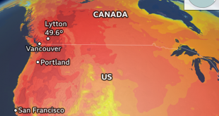 Hundreds of Sudden Deaths Recorded During Canadian Heatwave