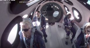 Richard Branson Successfully Returns From Trip to Space